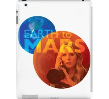 Earth to Mars iPad Case/Skin
