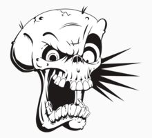 Psycho skull One Piece - Long Sleeve