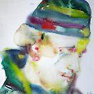 FREDERICK ROLFE - BARON CORVO - watercolor portrait by lautir
