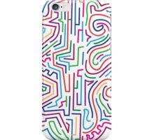 The coloured pattern. iPhone Case/Skin
