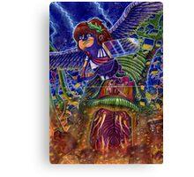 Kid Icarus: Pit vs Medusa Canvas Print