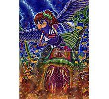 Kid Icarus: Pit vs Medusa Photographic Print