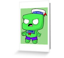 Stay Angry Greeting Card