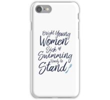 Bright Young Women iPhone Case/Skin