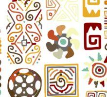 Ethnic handmade ornament Sticker
