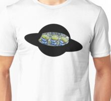 Toy Story Alien Riding Ufo Unisex T-Shirt