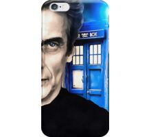 Doctor Who - Portrait of 12th iPhone Case/Skin
