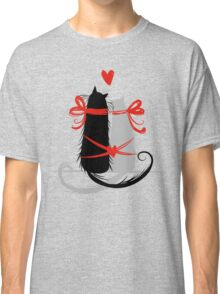 Couple of cats in love. Classic T-Shirt