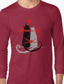 Couple of cats in love. Long Sleeve T-Shirt