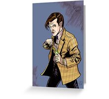 The Doctor...Geronimo!!! Greeting Card