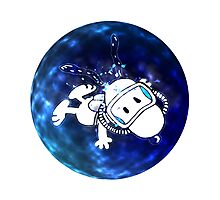 snoopy was swimming Photographic Print
