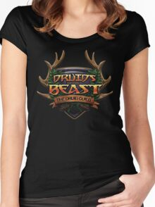 Druids of the Beast Crest Women's Fitted Scoop T-Shirt