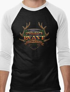 Druids of the Beast Crest Men's Baseball ¾ T-Shirt