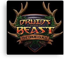 Druids of the Beast Crest Canvas Print