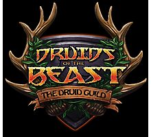 Druids of the Beast Crest Photographic Print