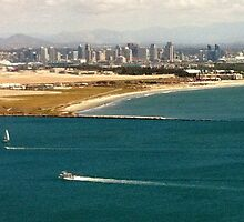 San Diego from Point Loma by christazuber