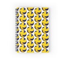 Spiral Volleyball with Dimples Spiral Notebook