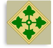 4th Infantry Division (United States) Canvas Print