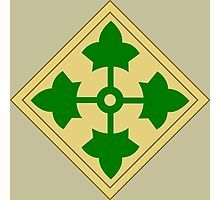 4th Infantry Division (United States) Photographic Print