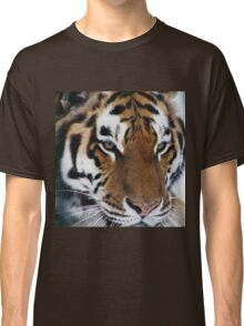 Siberian Tiger - unique photo design apparel and gifts Classic T-Shirt