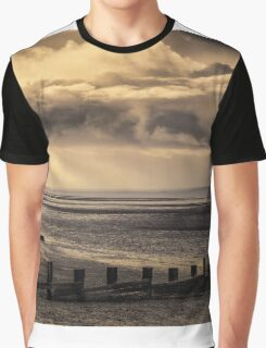 Early morning and the tide is out on the Solent Graphic T-Shirt