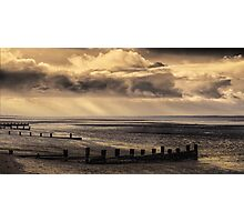 Early morning and the tide is out on the Solent Photographic Print
