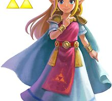 Zelda (triforce) by Oscar Wright