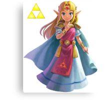 Zelda (triforce) Canvas Print