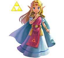 Zelda (triforce) Photographic Print