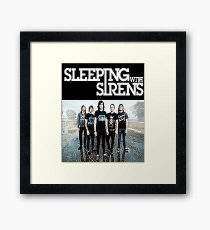 Sleeping With Sirens Framed Print