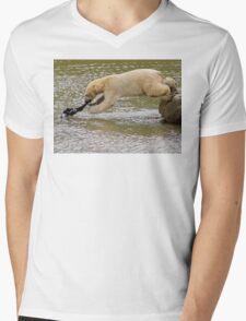 Geronimo! Mens V-Neck T-Shirt