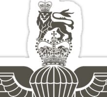 Parachute Regiment (UK) Black Sticker