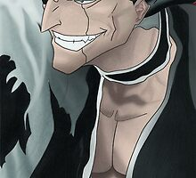 Kenpachi Zaraki by Oscar Wright