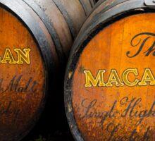 MacAllan Casks - Scotland Sticker