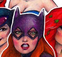 DC Ladies Sticker