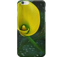 Yellow Calla Lily iPhone Case/Skin
