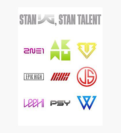 Stan YG, stan talent Photographic Print