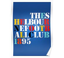THE SHELBOURNE FOOTBALL CLUB 1895 (STONE ROSES) - PRINT Poster