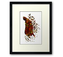 Bats Are All Around Framed Print