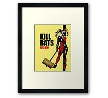 Kill Bats Framed Print