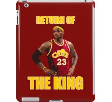 Return of the King iPad Case/Skin