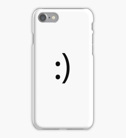 Simplistic Smile iPhone Case/Skin