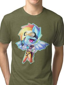 My little pony, Tracer cross-over Rainbow Dash  Tri-blend T-Shirt