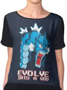 Evolve into a GOD Chiffon Top
