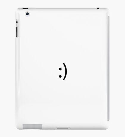 Simplistic Smile iPad Case/Skin