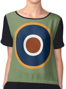 Royal Air Force - Historical Roundel Type C.1 1942 - 1947 Chiffon Top