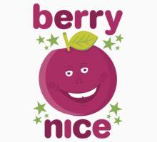 Berry Nice in dark pink One Piece - Long Sleeve