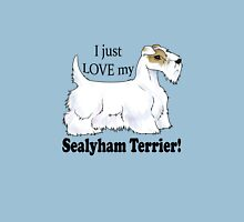 I Love My Sealyham! (Lemon-and-White)  Unisex T-Shirt
