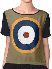 Royal Air Force - Historical Roundel Type A.2 1940 - 1942 Chiffon Top