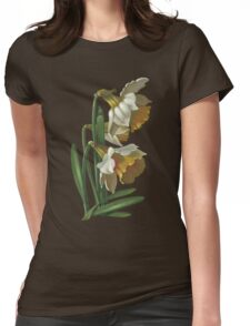 Daffodils - acrylic on canvas Womens Fitted T-Shirt
